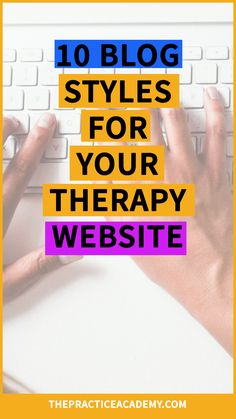 Are you a therapist or wellness provider who wants to boost their online marketing and attract more clients? Your blog is super important. Google loves fresh content and clients will develop a trusting relationship through your blog articles. This article includes 10 different styles your wellness blog can have. Click through to read the whole post and download 44 blog topics that will help you get started writing! Happy blogging!