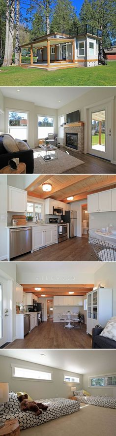 The Bellevue: a stunning, luxury cottage on Lake Whatcom in Washington