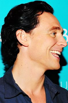 Tom Hiddleston.  I love finding a talented actor and he is definitely that.  The adorableness is a bonus.