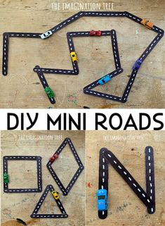 Make a gorgeous DIY mini roads set for encouraging fine and gross motor development, building shapes, letters of the alphabet and hours of imaginative play on the go too! Perfect as an easy homemade gift idea, and even more brilliant when paired with a vehicle related story book. Let's make a DIY mini roads set!...Read More »