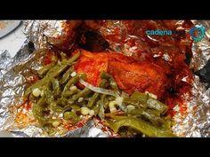 Receta para preparar mixiotes de pollo. Recta de mixiotes / Receta de pollo / Comida mexicana