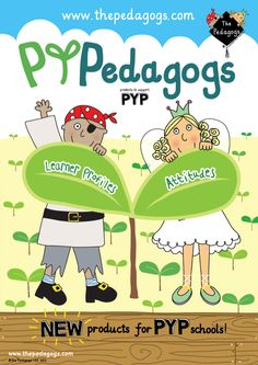 NEW products for PYP schools. Except there is only one Learner Profile (with 10 attributes).
