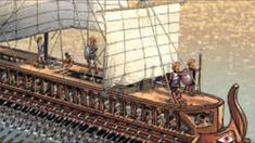 The Trireme   Dreadnought of the Ancient Mediterranean