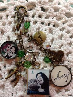 Custom Snape & Lily - Harry Potter Themed Charm