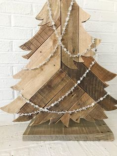 Items similar to Christmas Tree Tall Rustic Holiday Decorations on Etsy Halloween Door Decorations, Thanksgiving Decorations, Christmas Decorations, Thanksgiving Celebration, Weird Gifts, Unusual Gifts, Easy Diy Christmas Gifts, Christmas Crafts, Christmas Trees