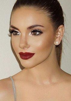 Maquillaje para morenas claras   Belleza