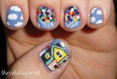 Up nail design