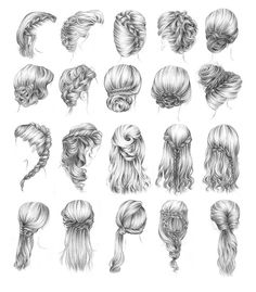 I love all of these hairstyles!!!