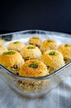Stuffed Tel Kadayif (sub vegan margarine)