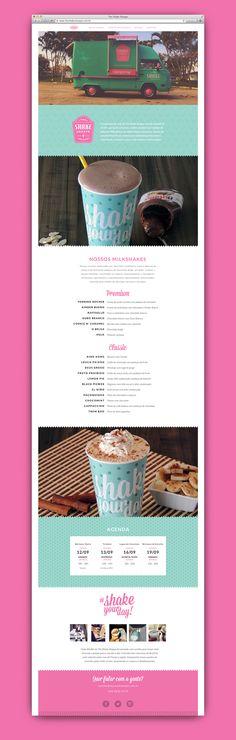 The Shake Shoppe - Specialty Milkshakes on Behance