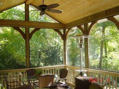 Screened Porch in Mountain Brook, AL - Screened Porches Photo Gallery - Archadeck of Birmingham