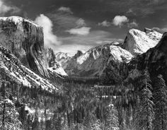 Yosemite Valley Winter