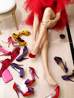 So many shoes, so little time! That's a problem we like to have! #shoeaddict #girly #newshoes photo from www.sparkles-and-crumbs.com