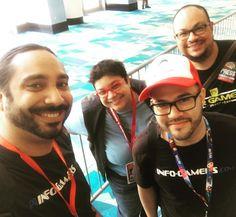 Estamos ready para @prcomiccon y el Video Game Conference!! @realprgamer @infogamers_es #PRCC2016 #puertorico