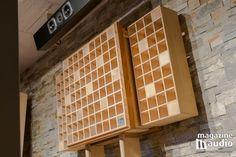 Panneau acoustique inovaudio (fait au / made in Canada) modèle papillon. Chez Pro Design Audio lors du banc d'essai des enceintes acoustiques Genesis 7.2f