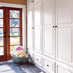 Example Mudroom Lockers Design