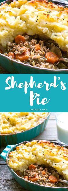 The BEST recipe for Gluten Free Shepherds Pie! It's easy to make it ...