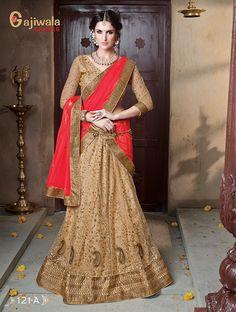 Soft Net Heavy Embroidery Lehenga, Kali with Santoon Inner, soft net dupatta with diamond work,Blouse of net with heavy overall embroidery work