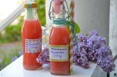 Rhabarber Sirup aus dem Thermomix - Allgemein, Frühling, Geschenke, Getränke - Regina-mixt