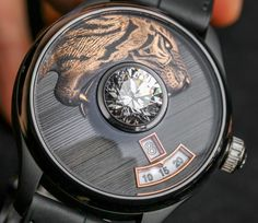 De Tournemire Watches Set Really Large Diamonds In The Crystal