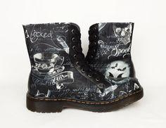 Gothic Stiefel spukt individuelle Schuhe Gothic von RockYourSole