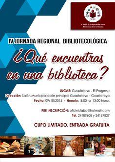 Promocional de la IV Jornada Regional CCBU 2015 - Guastatoya
