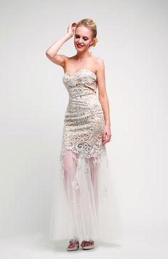 CDJ708 - Mermaid Strapless Sweetheart Neckline Floor Length Wedding Bride Maid Evening Long Prom Dress