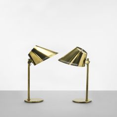 191: Paavo Tynell / table lamps model 9227, pair < Scandinavian Design, 12 May 2011 < Auctions   Wright