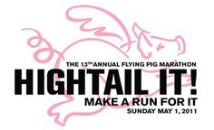 When Pigs Fly half marathon.   (this year? May 6th, 2012) I will conquer!