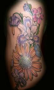 VERY pretty flowers in this piece