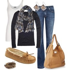 My type of style! Cute, simple and comfy!...Saturday Morning, created by alttra on Polyvore