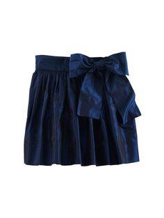 TAFFETA POUF SKIRT - Designer Girl's Clothing - Designer Clothing for Girls by Oscar de la Renta - Oscar de la Renta
