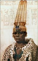 Taharqa - a Nubian King of Egypt who fought the Assyrian invaders, who were also BLACK. http://www.suziemanley.com/famous_egyptians/taharka.htm