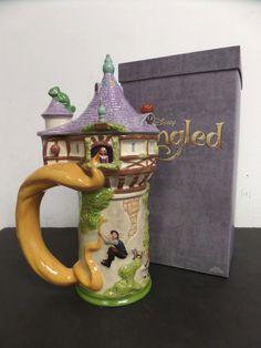 Disney Tangled Rapunzel Tower Beer Stein Mug Maquette Crew Animation Figurine | eBay
