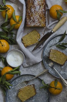 Coconut Clementine Cake (gluten free, dairy free and sugar free)