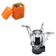 Hot Outdoor Picnic Burners Stove Camping Gas Stove Portable Folding Mini Burners Stoves New Super Lightweight With Box -- View the item in details by clicking the VISIT button