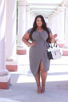 Great plus size fashion is hard to discover and I want to help you find it. Beautiful Plus size fashion is what we all deserve. Looks Plus Size, Curvy Plus Size, Plus Size Women, Fashion Mode, Curvy Girl Fashion, Plus Size Fashion, Street Fashion, Fashion Night, Fashion 2018