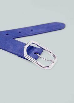 Cinturón piel   MANGO 9e