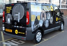 Close up of the NEW YALE VAN, let us know what you think of it...