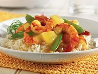 Sweet and Sour Shrimp with Pineapple by Crock-Pot. Good but looked nothing like the picture.  Pea pods were mush.  No need to put In crockpot.           Made again on stove top.  Very good and looked like picture.  Will make my way again.  Co 2013