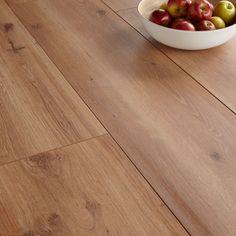 Colours Princeps Oak Effect Wide Plank Laminate Flooring 1.45m² Pack   Departments   DIY at B&Q