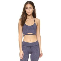 Free People Movement Infinity Bra ($58) ❤ liked on Polyvore featuring activewear, sports bras, navy, navy blue jersey, racerback sports bra, navy sports bra, blue jersey and navy jersey