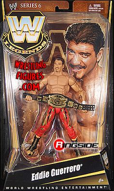 RINGSIDE COLLECTIBLES WWE Toys, Wrestling Action Figures, Jakks Pacific, Classic Superstars Action F: EDDIE GUERREROWWE LEGENDS 6WWE Toy Wrestling Action Figure