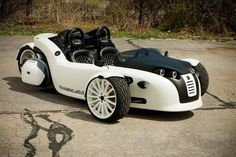 Campagna Motors, makers of the T-Rex reverse trike (two wheels in front, one in the rear), has announced its newest offering, the V13R reverse trike.