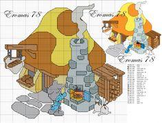 Baby Cross Stitch Patterns, Cross Stitch For Kids, Cross Stitch Baby, Cross Stitch Bookmarks, Beaded Cross Stitch, Cross Stitch Embroidery, Stitch Character, Fantasy Cross Stitch, Stitch Cartoon