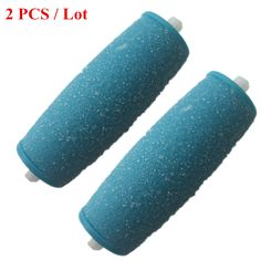 Hot sales 2Pcs NEW ARRIVE Foot care tool Heads Hard Skin Remover Refills Replacement Rollers For Scholls File Feet care Tool