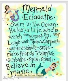 Quote, mermaids, mermaid  etiquette, mystical, magic, majestical