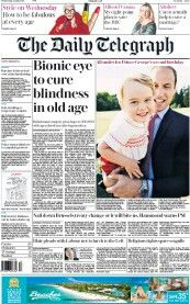 The Daily Telegraph Bionic Eye, The Daily Telegraph, Old Age, British Men, All Smiles, Bbc, The Cure, How To Plan, Wednesday