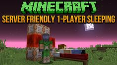 Do you play Minecraft with other players who won't go to bed?  Here's a way to fix that with command blocks!  Check it out! http://www.minecraftwiz.com