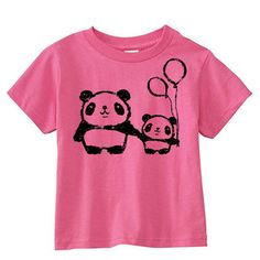 Panda Love Tee now featured on Fab.